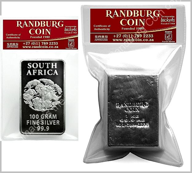 Randburg_Coin_Silver_Bars