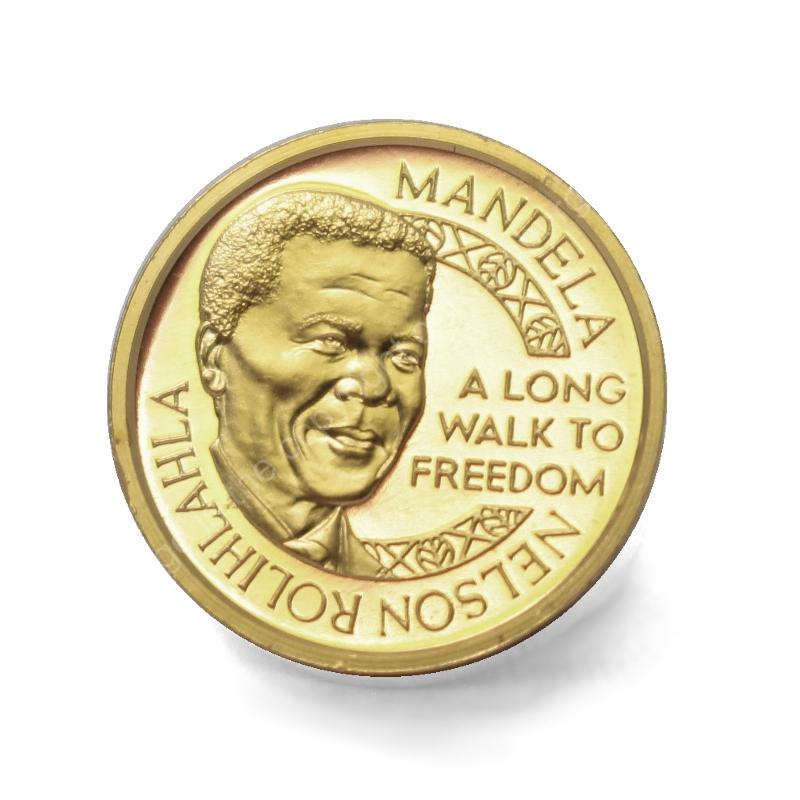 Mint Of Norway Gold Proof 1 4oz Medallion Mandela De