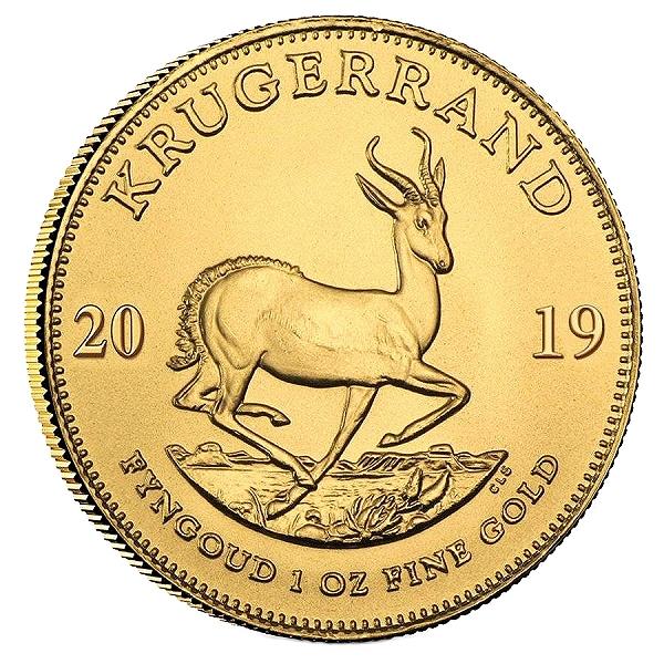 2019 1oz Gold Krugerrand rev