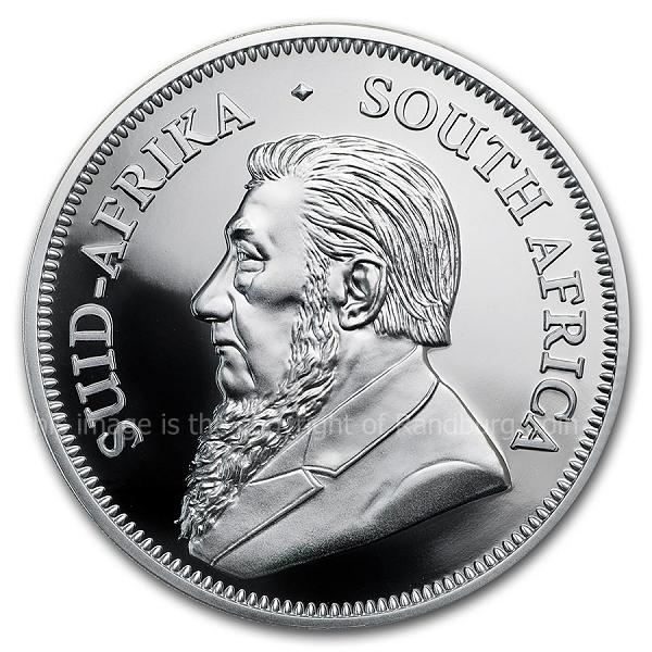 2019 Silver Proof Krugerrand ob