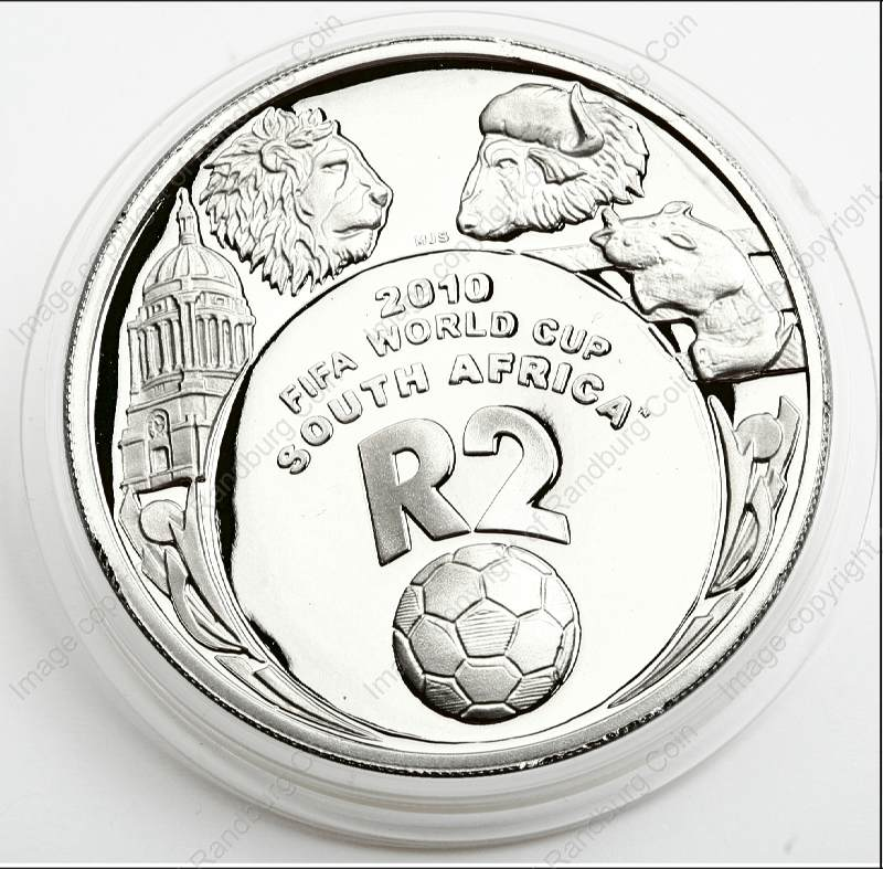 2007 Silver R2 Proof FIFA Crown Coin rev