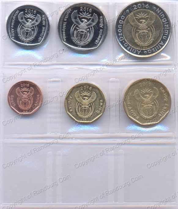 Sa Circulation Coin Set Mintage