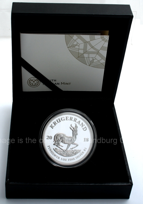 Silver Proof Bullion Krugerrands