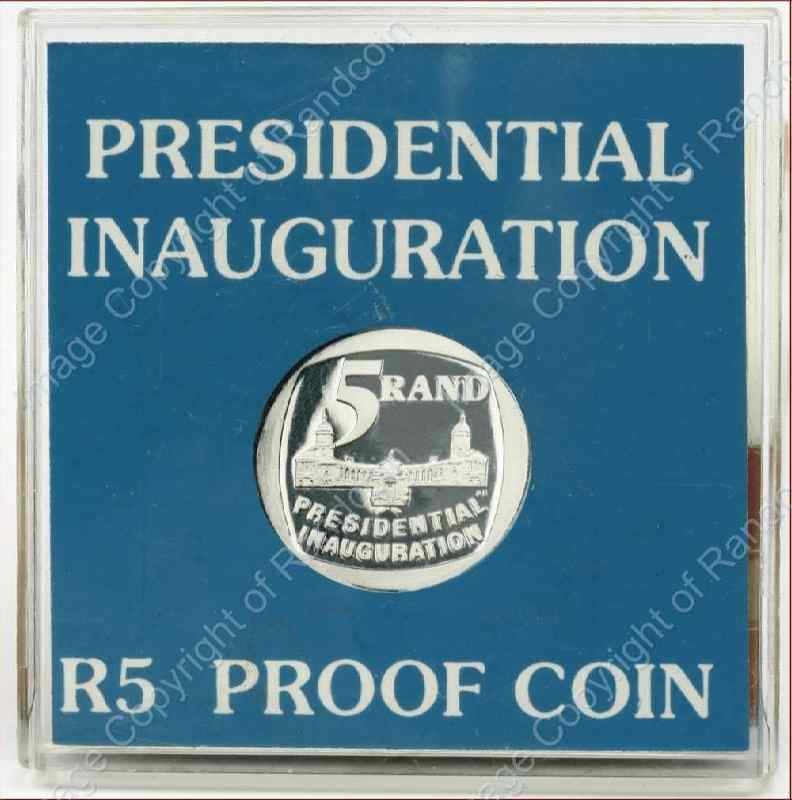 1994_Presidential_Inauguration_in_Perspex_box_rev