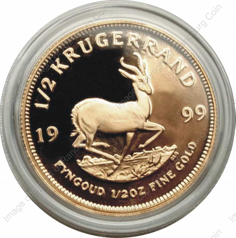 Gold Proof Prestige Krugerrand Set In Wooden Box