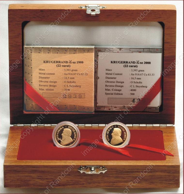 1999_to_2000_Tenth_oz_KR_Proof_2_Coin_Millenium_Set_Box_ob