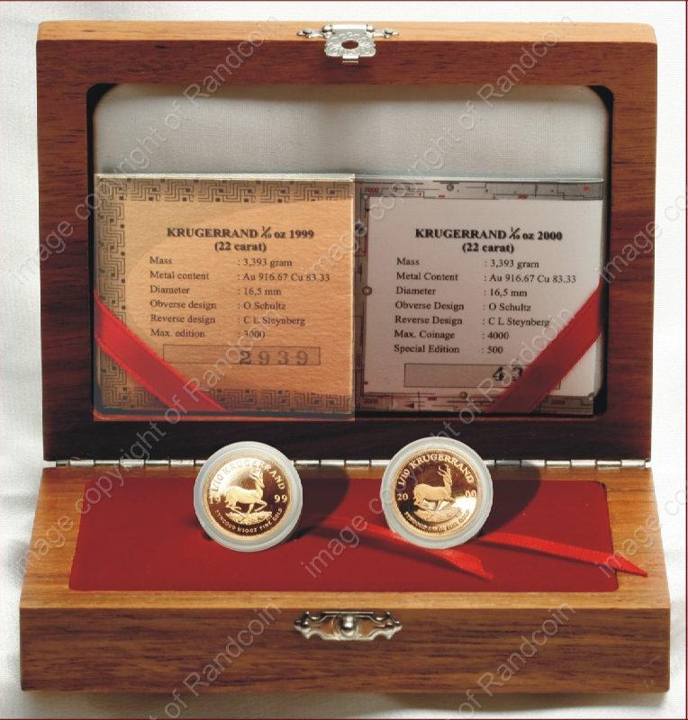 1999_to_2000_Tenth_oz_KR_Proof_2_Coin_Millenium_Set_Box_rev