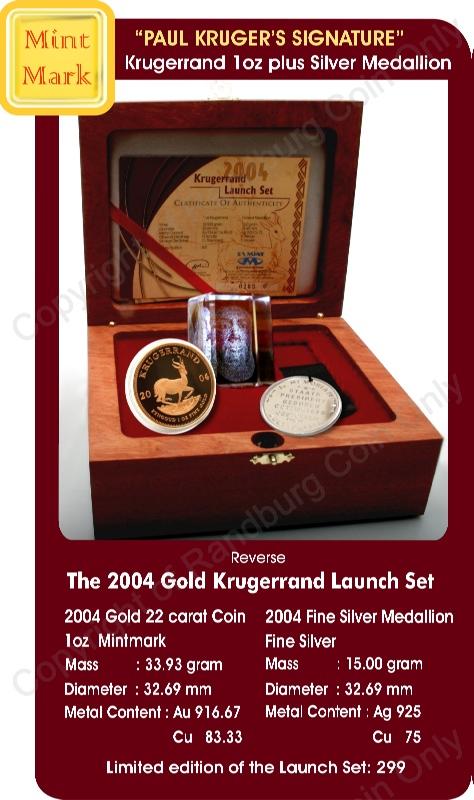 2004_Krugerrand_Launch_Mintmarked_Set_with_crystal_Kruger_portrait_open_box_rev