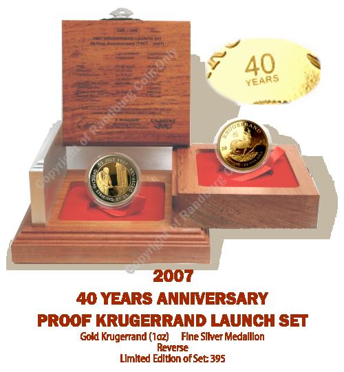2007_Proof_1_oz_Krugerrand_plus_Bi_Metal_Silver_Medallion_40Yr_Launch_Set_mintmark_open_box_rev