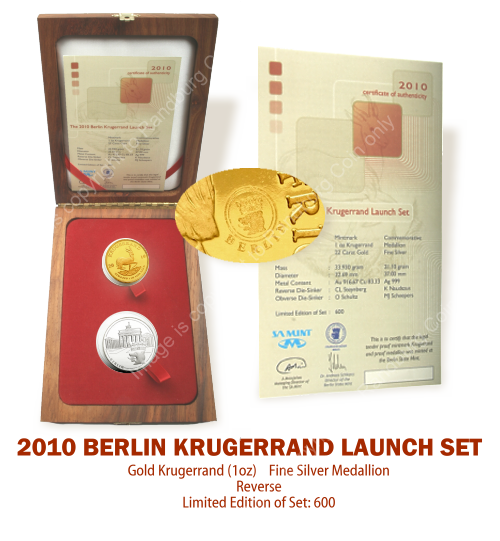 2010_Proof_1_oz_Krugerrand_plus_Silver_Medallion_Berlin_Launch_Set_mintmark_open_box_rev