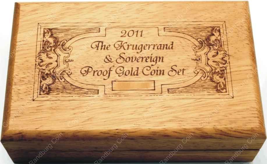2011 Gold Proof Krugerrand And Sovereign Set
