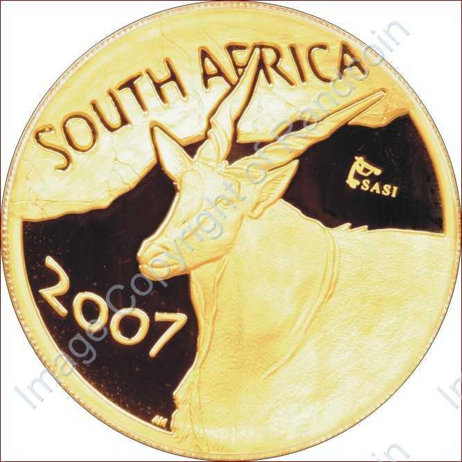 2007_Natura_Eland_1_oz_AU_Mintmark_launch_coin_ob