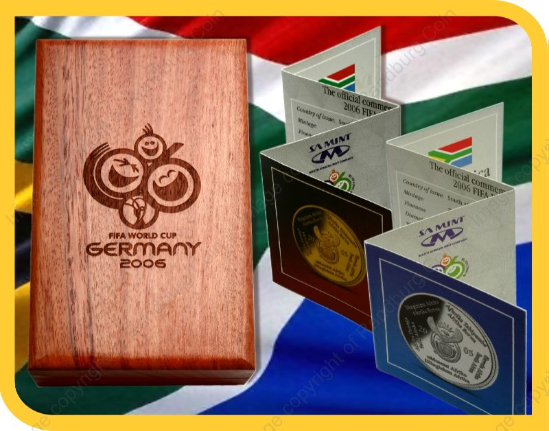 2005_FIFA_Gold_Proof_Quarter_oz_and_Silver_1oz_Collector_Handover_Set_closed_box_and_certs