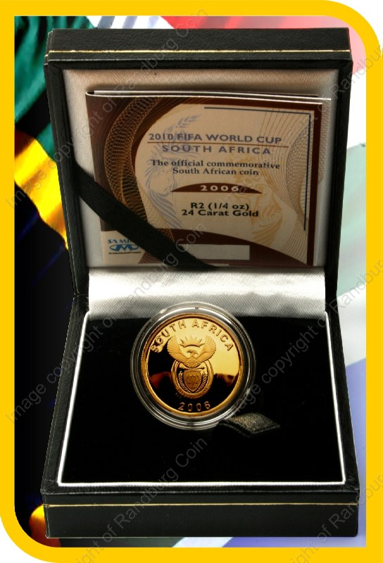 2006_Gold_R2_Proof_FIFA_Quarter_oz_open_box_ob
