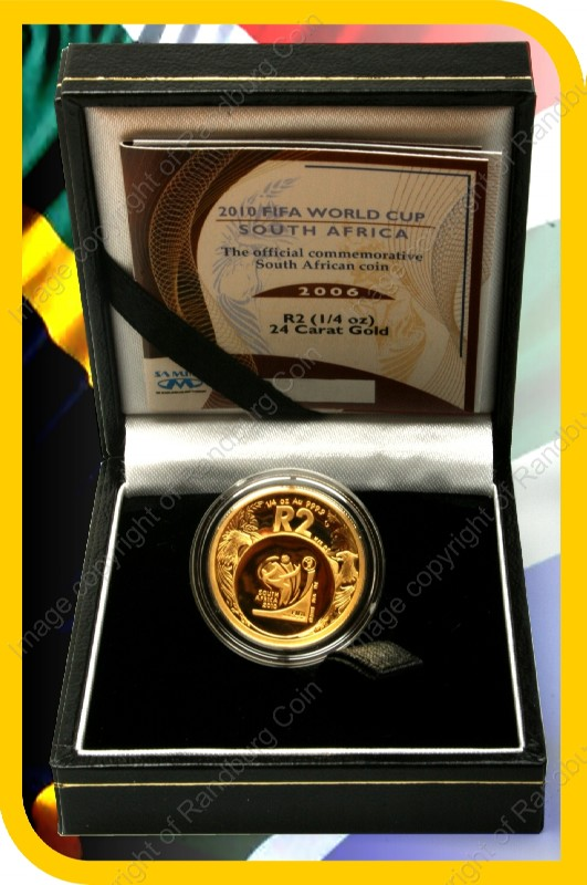 2006_Gold_R2_Proof_FIFA_Quarter_oz_open_box_rev