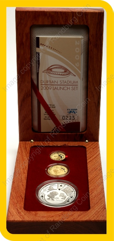 2009_FIFA_Gold_Proof_Quarter_and_10th_oz_and_Silver_1oz_Launch_Set_open_box_rev