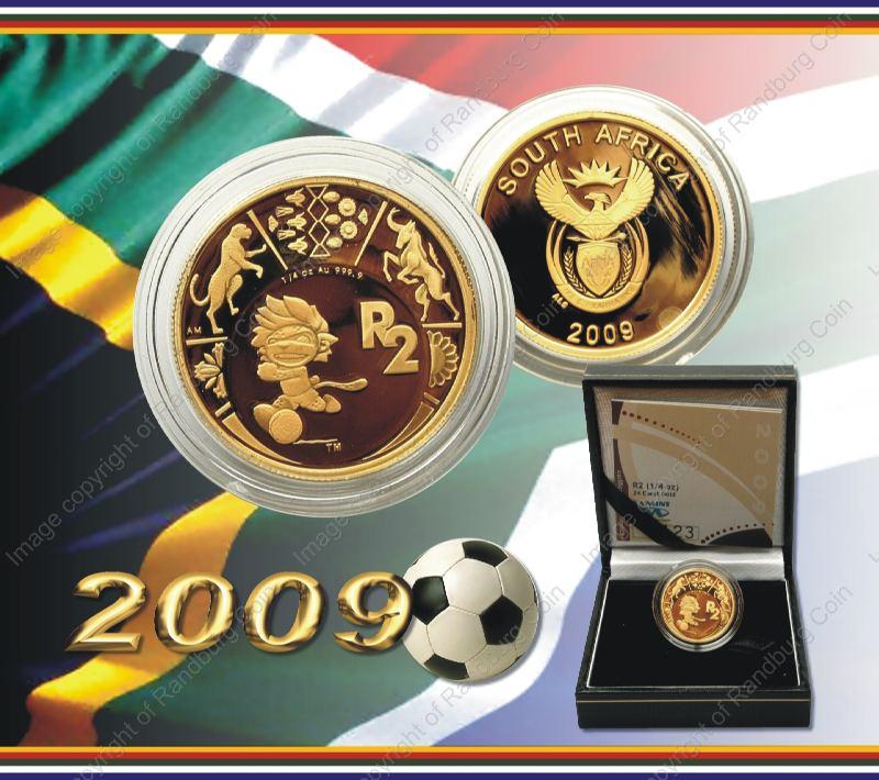 2009_Gold_R2_Proof_FIFA_Quarter_oz_ob_and_rev
