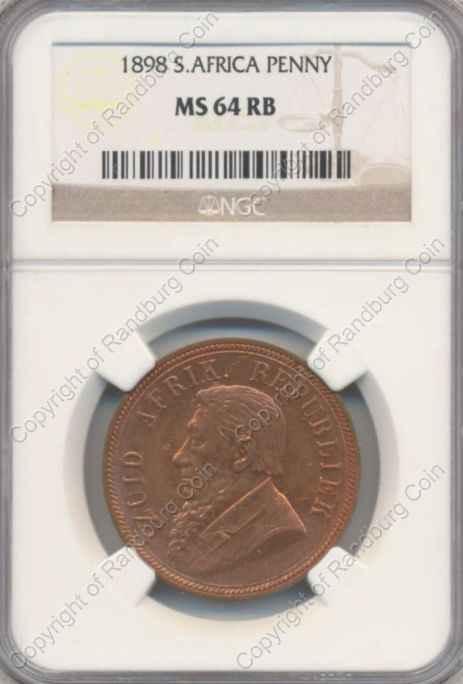 1898_ZAR_1_Penny_MS64_RB_ob
